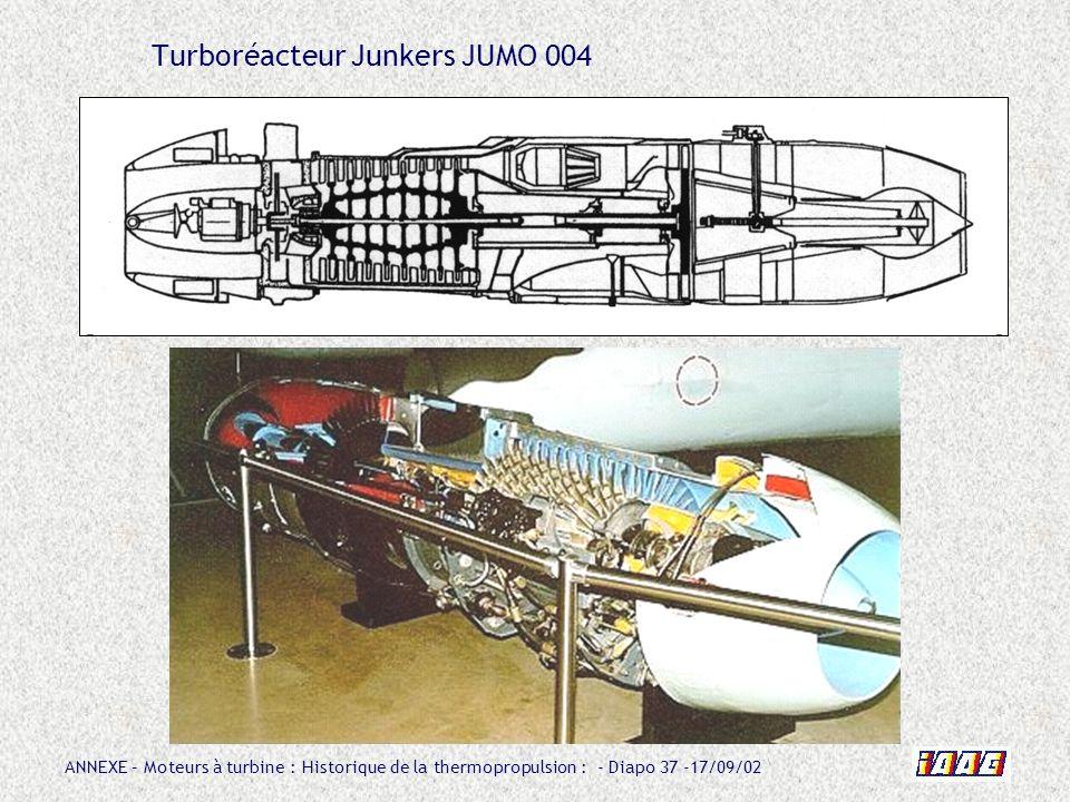 Turboréacteur Junkers JUMO 004