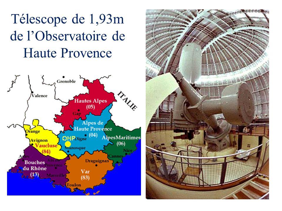 Télescope de 1,93m de l'Observatoire de Haute Provence
