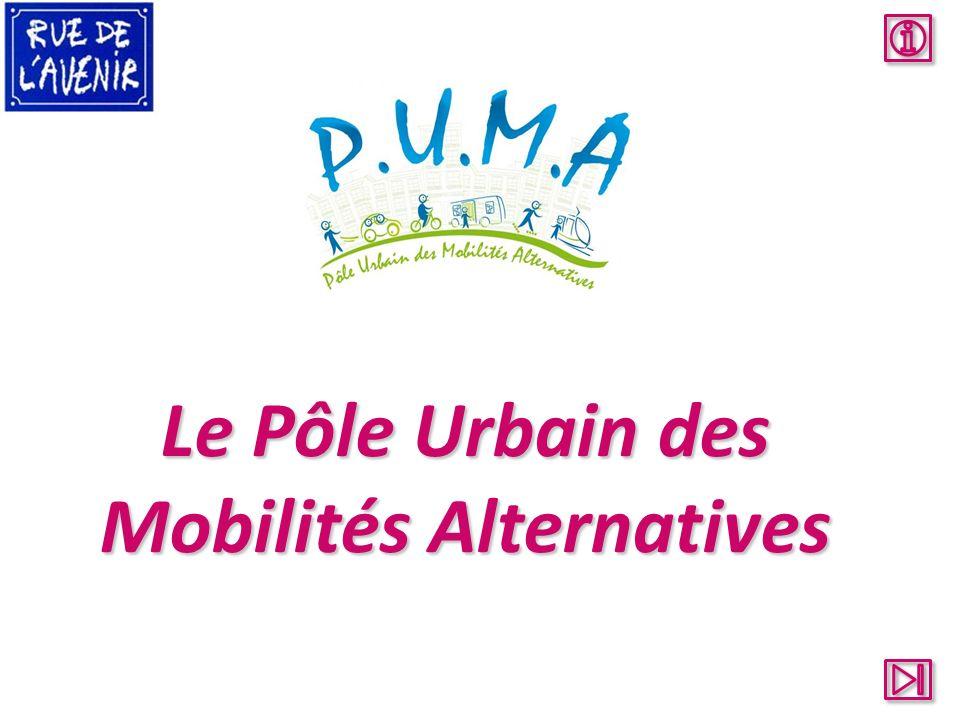 Le Pôle Urbain des Mobilités Alternatives