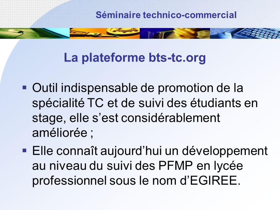 La plateforme bts-tc.org