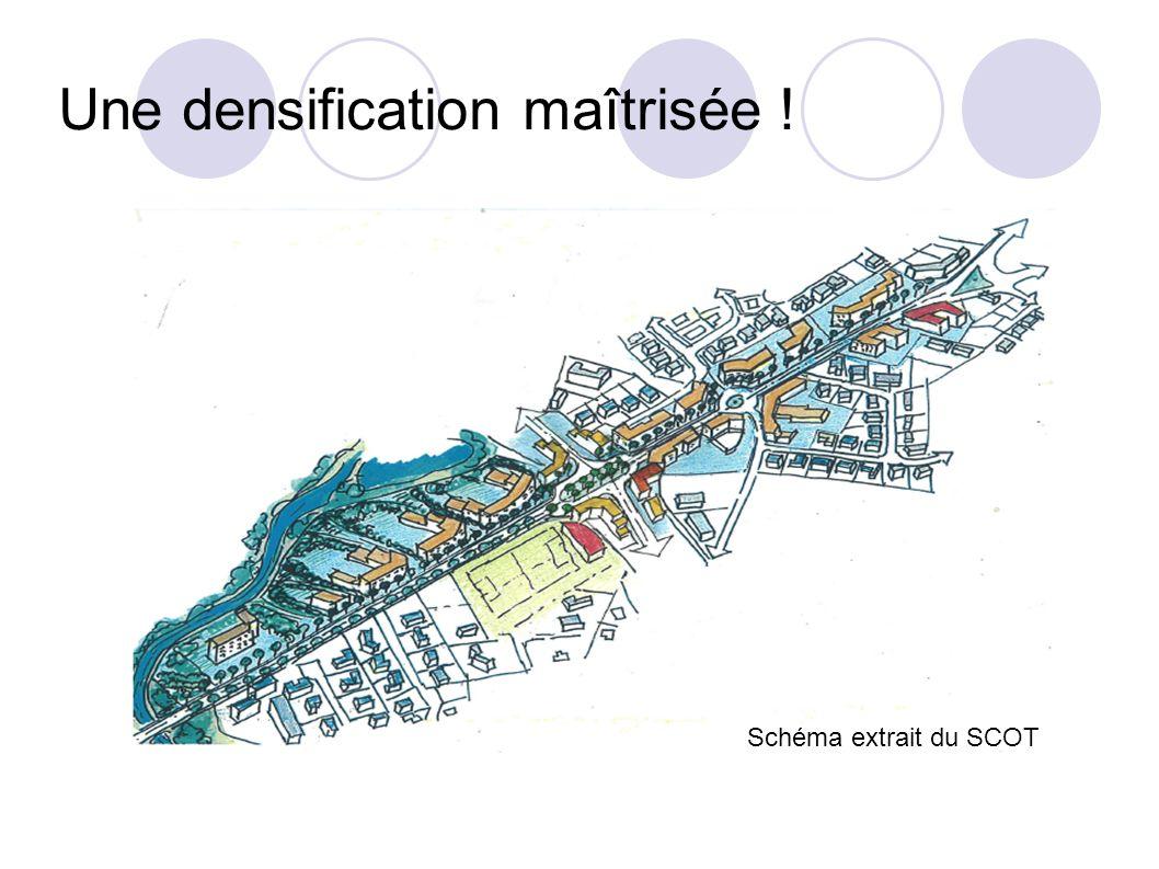 Une densification maîtrisée !