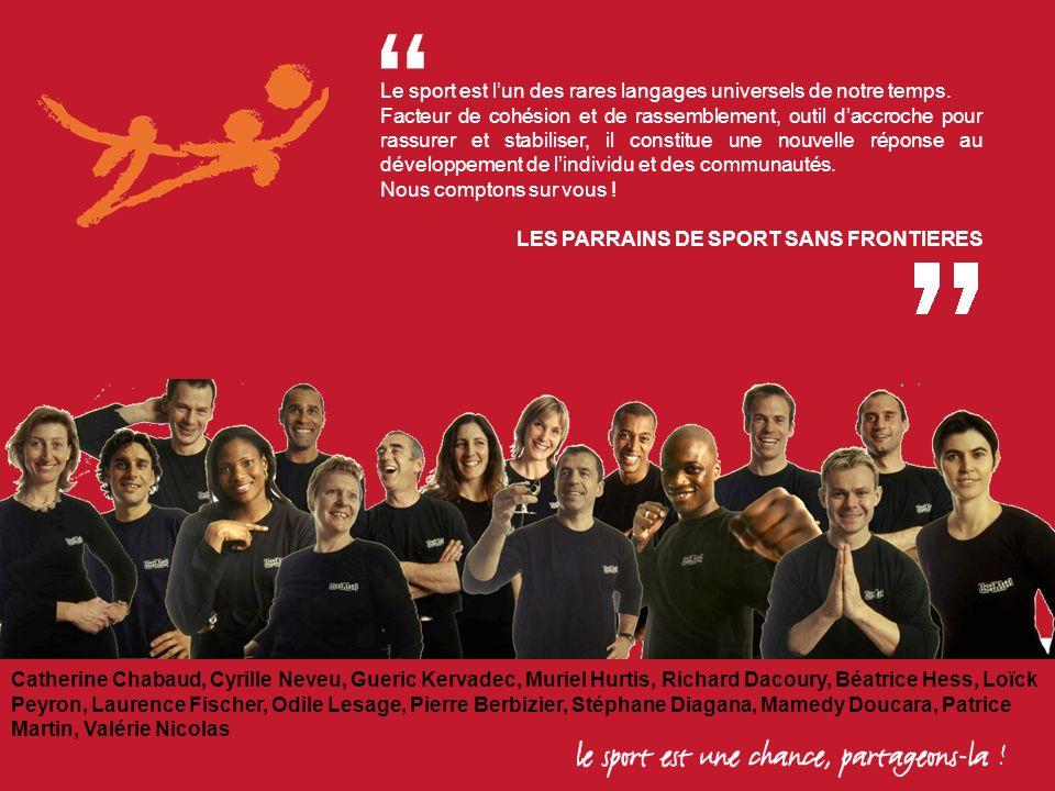 Le sport est l'un des rares langages universels de notre temps.