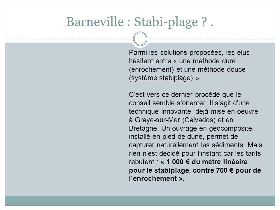 Barneville : Stabi-plage .