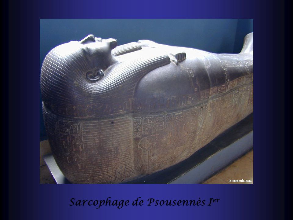 Sarcophage de Psousennès Ier
