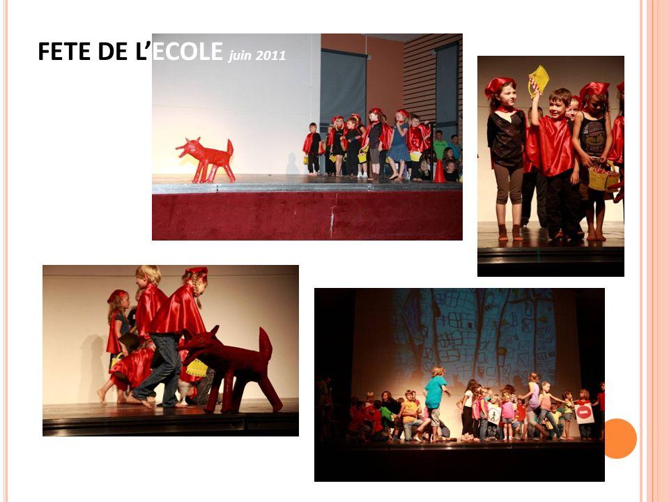 FETE DE L'ECOLE juin 2011