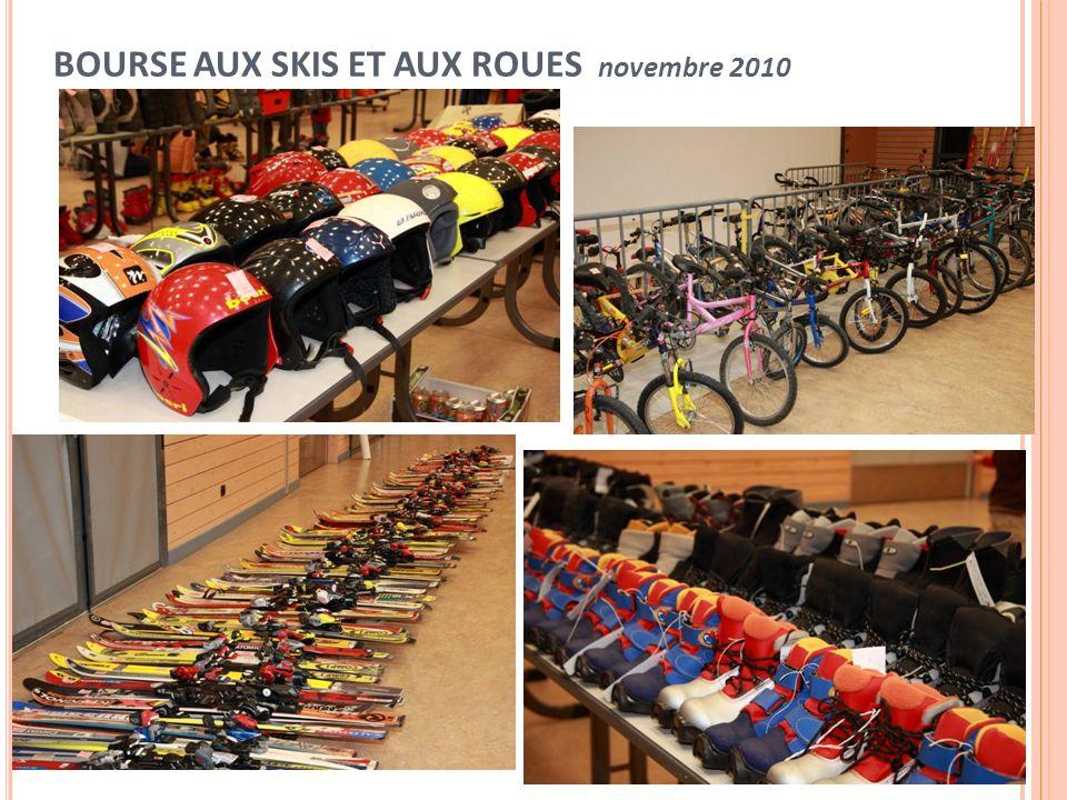 BOURSE AUX SKIS ET AUX ROUES novembre 2010