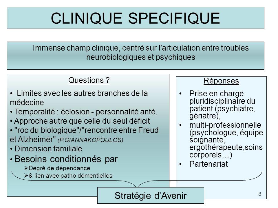 CLINIQUE SPECIFIQUE Stratégie d'Avenir