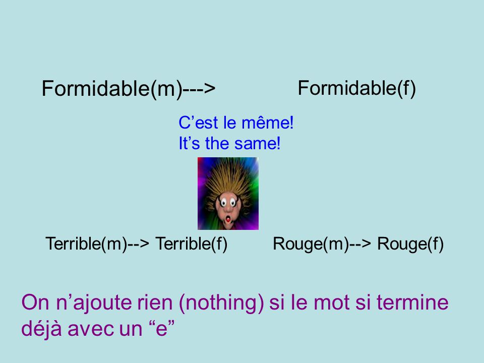 Formidable(m)--->