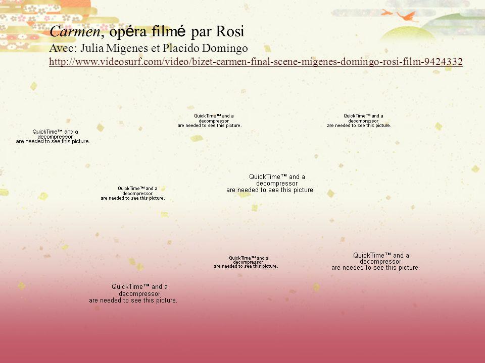 Carmen, opéra filmé par Rosi