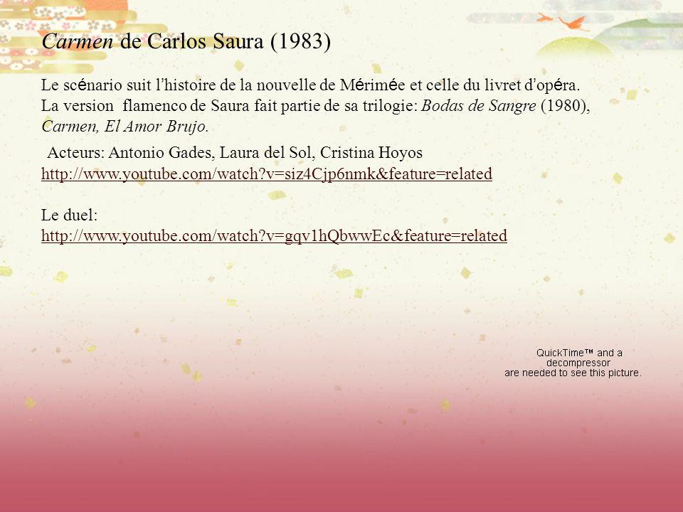 Carmen de Carlos Saura (1983)