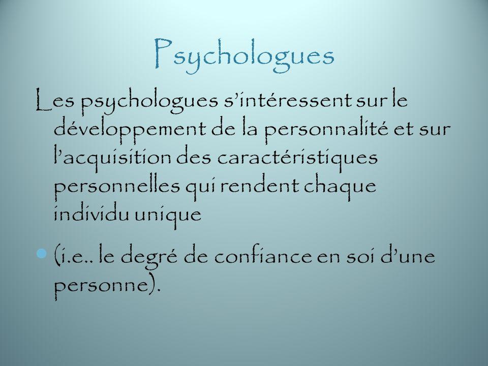 Psychologues