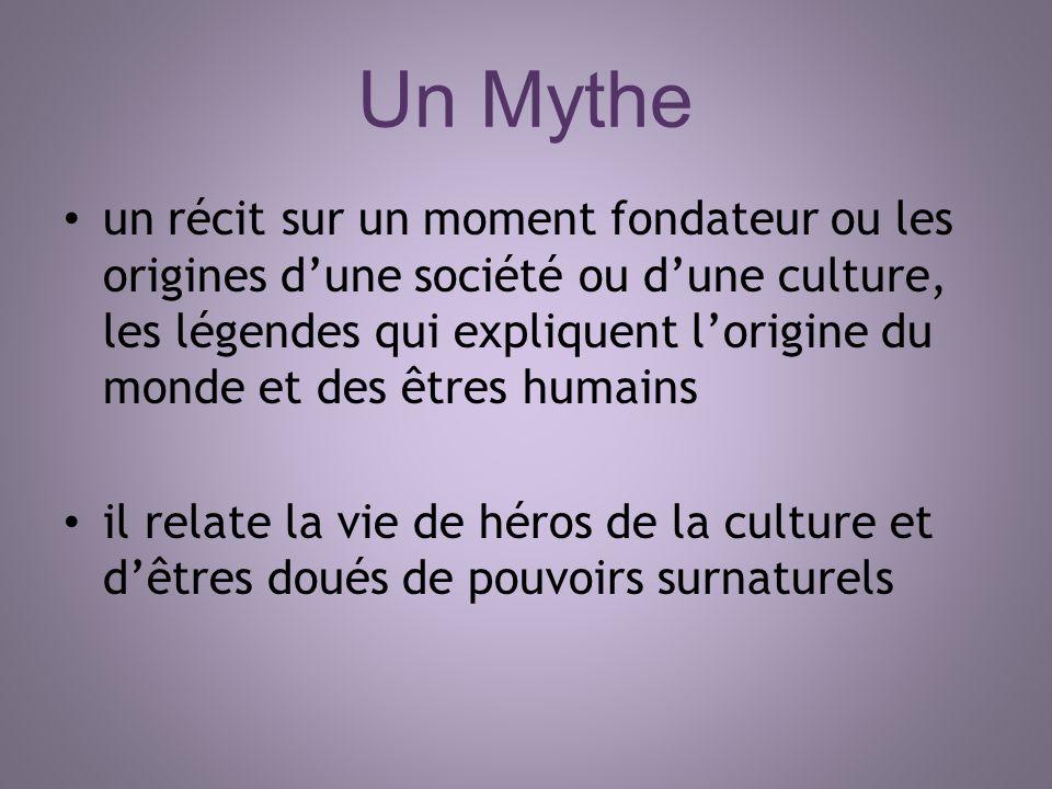 Un Mythe