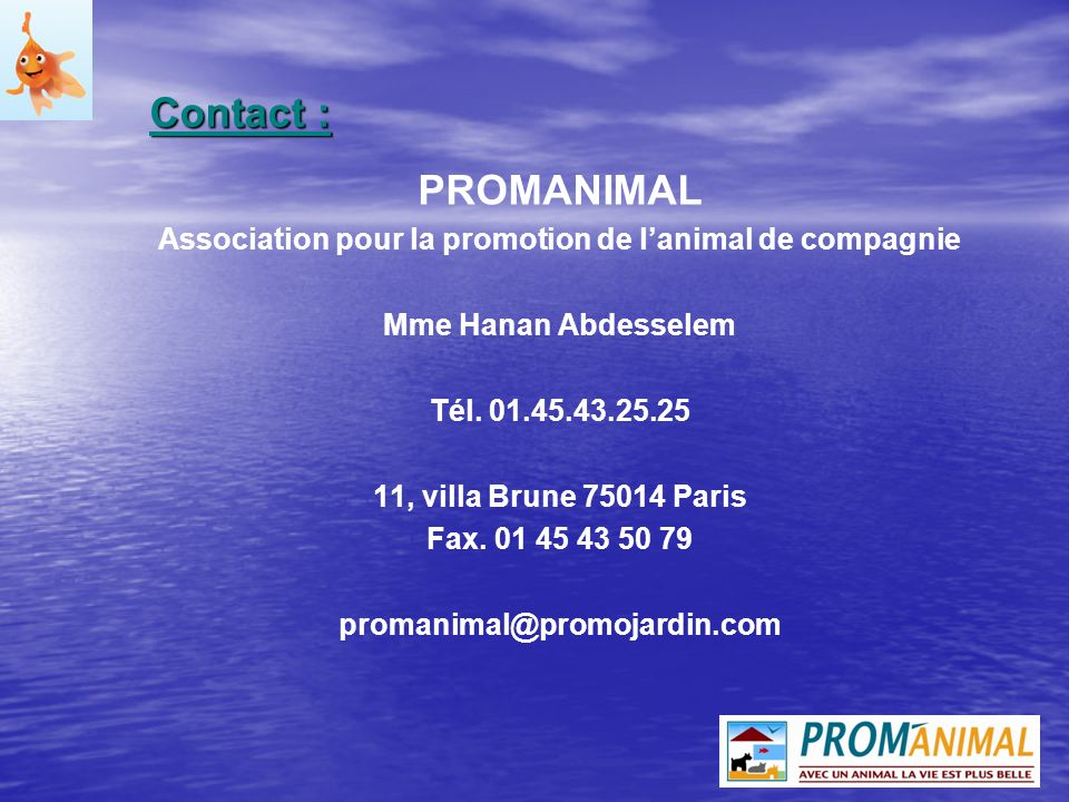 Association pour la promotion de l'animal de compagnie