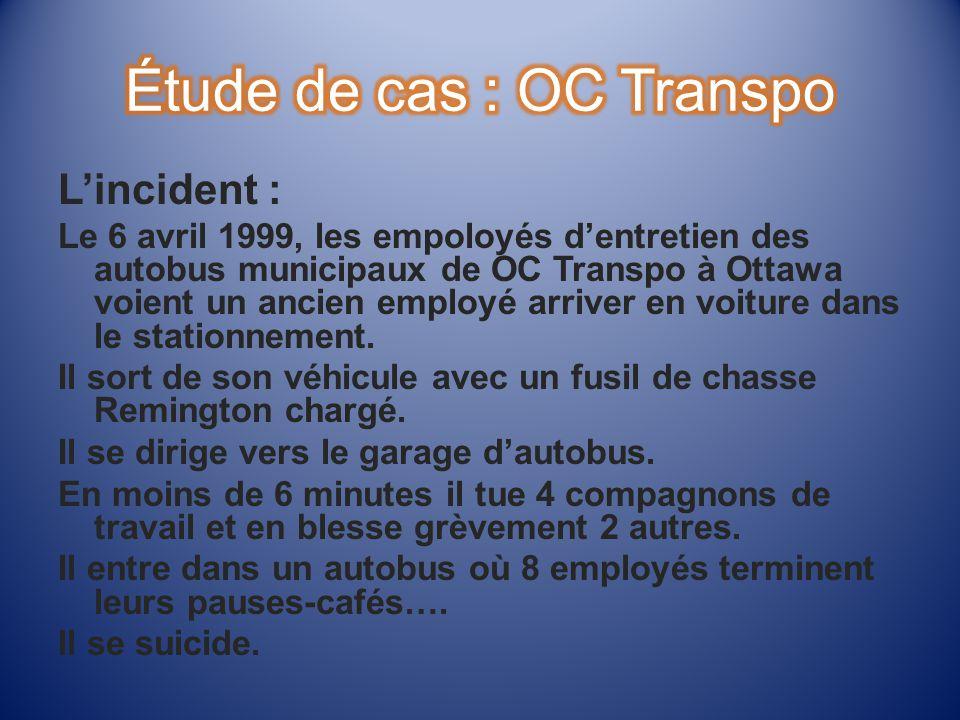 Étude de cas : OC Transpo