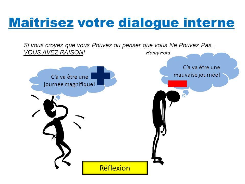 Maîtrisez votre dialogue interne