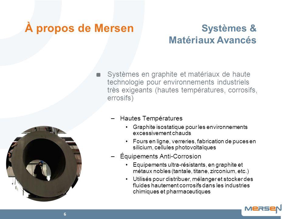 Systèmes & Matériaux Avancés