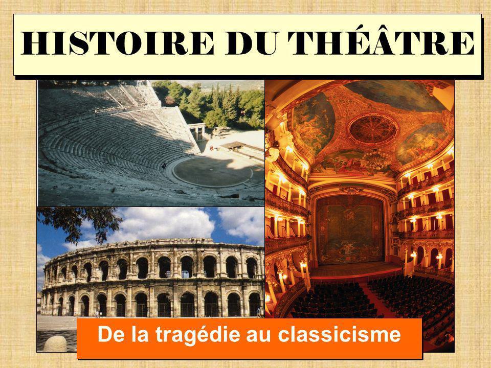 De la tragédie au classicisme