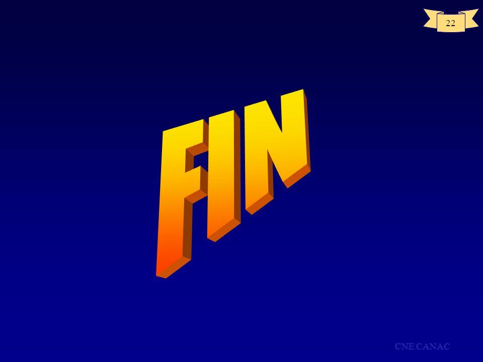 FIN CNE CANAC