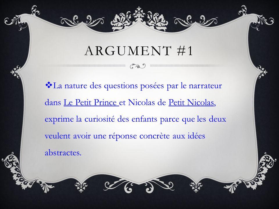 Argument #1