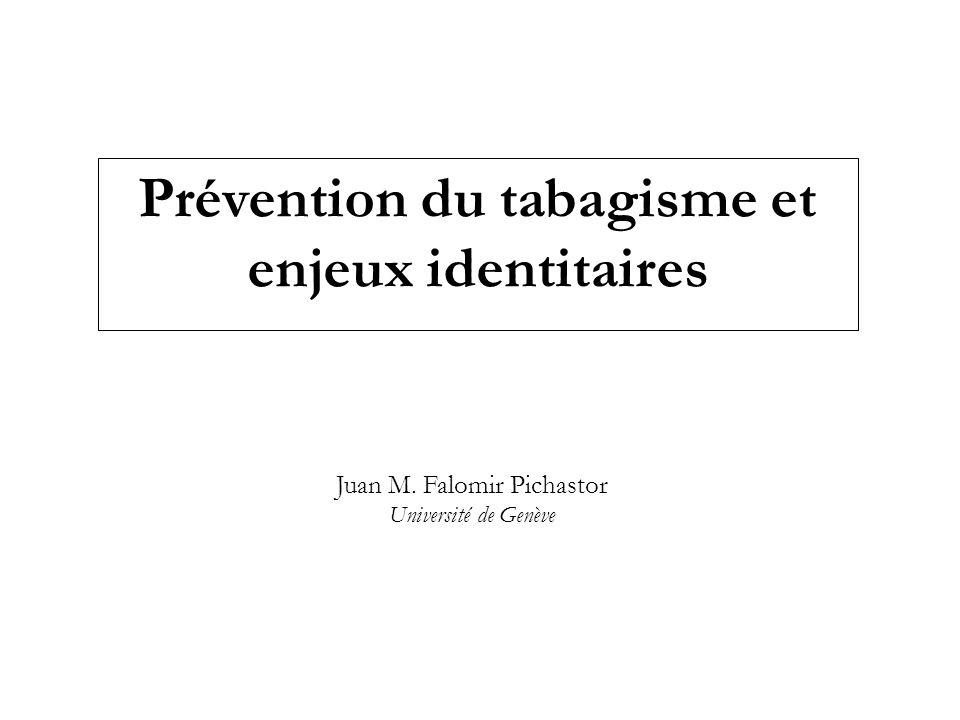 Prévention du tabagisme et enjeux identitaires