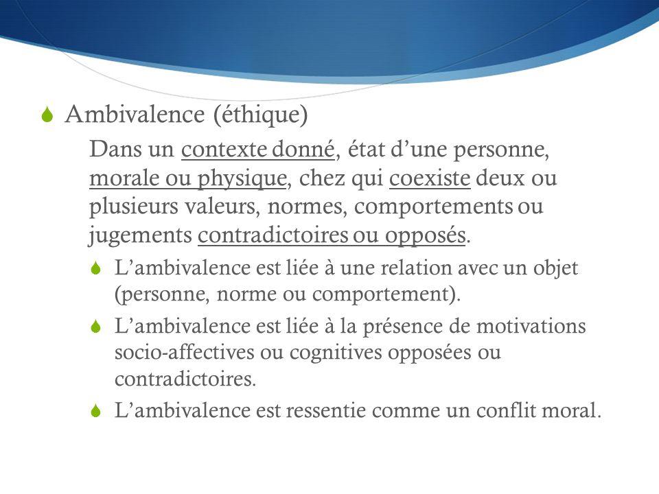 Ambivalence (éthique)