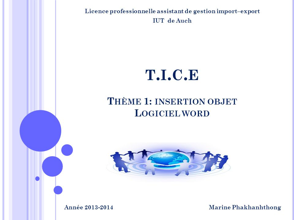 Licence professionnelle assistant de gestion import–export IUT de Auch