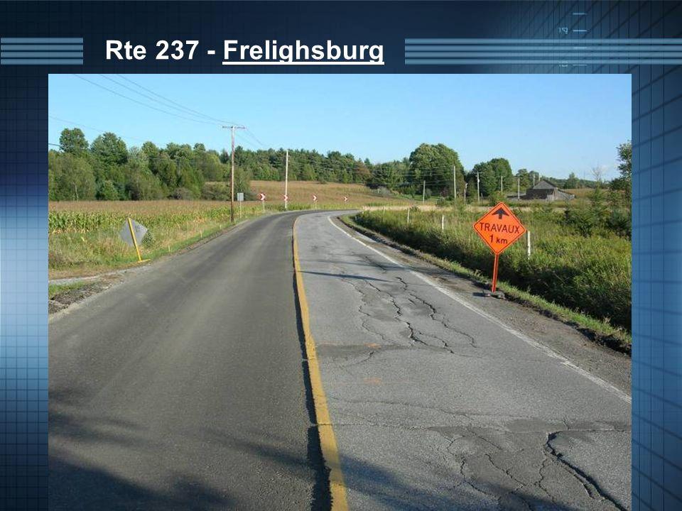 Rte 237 - Frelighsburg