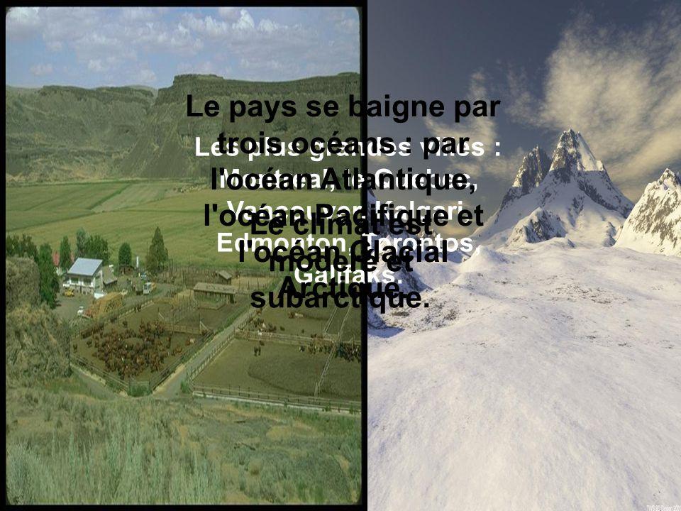 Le climat est moderé et subarctique.