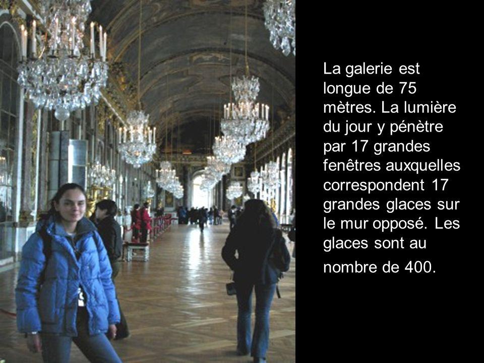 La galerie est longue de 75 mètres