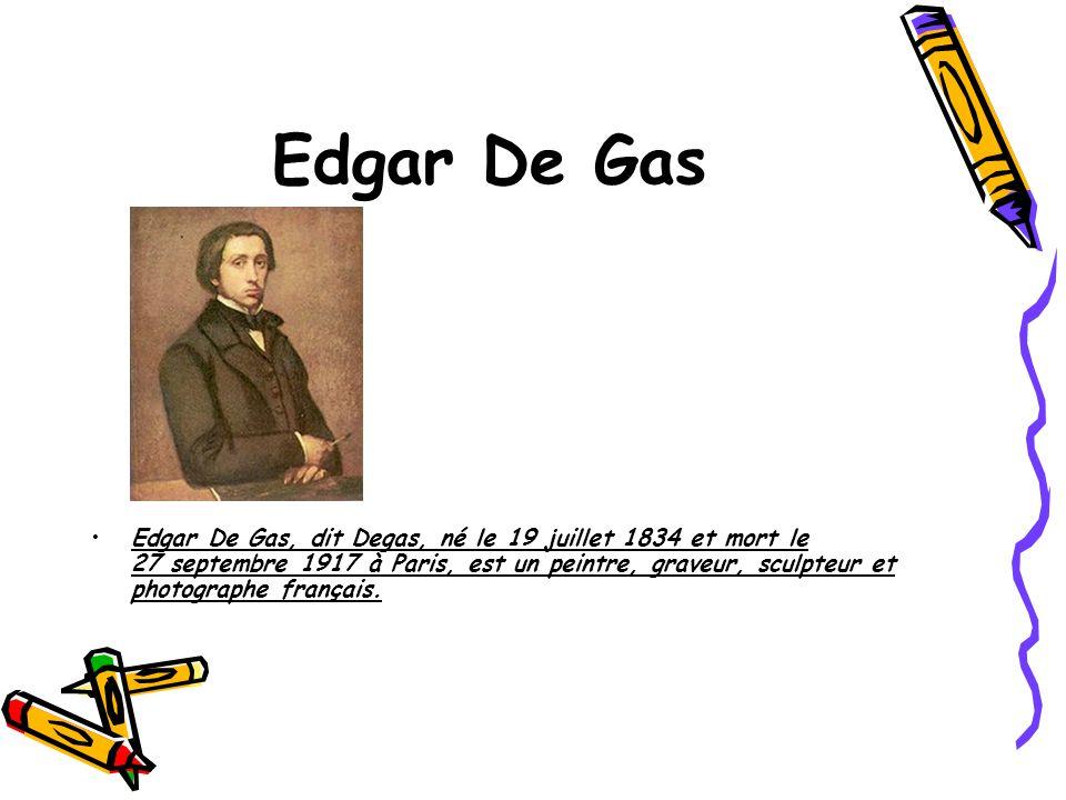 Edgar De Gas