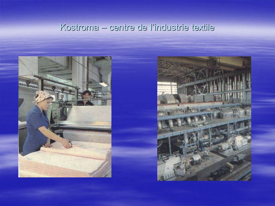 Kostroma – centre de l'industrie textile