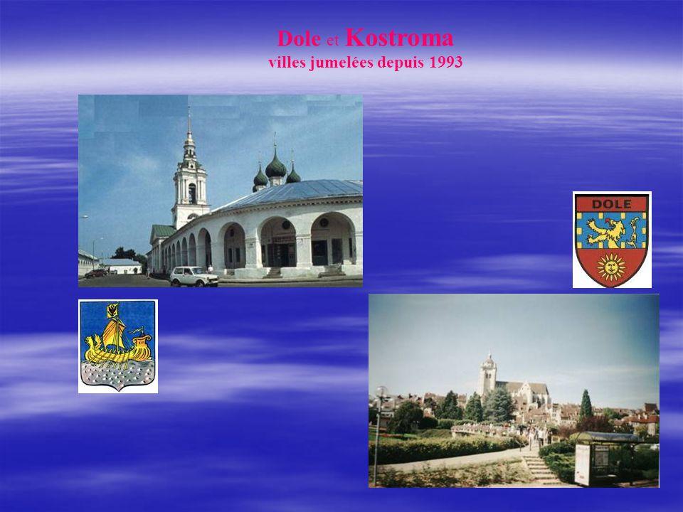 villes jumelées depuis 1993