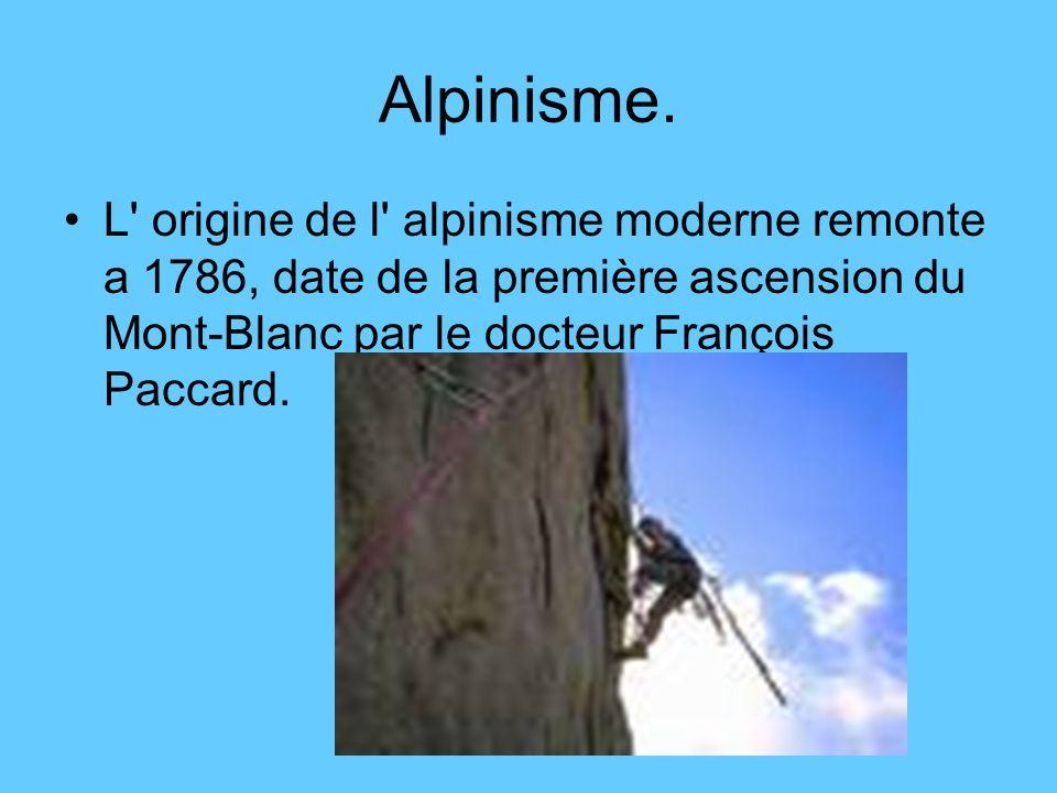 Alpinisme.