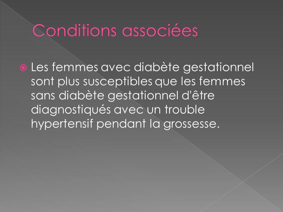 Conditions associées