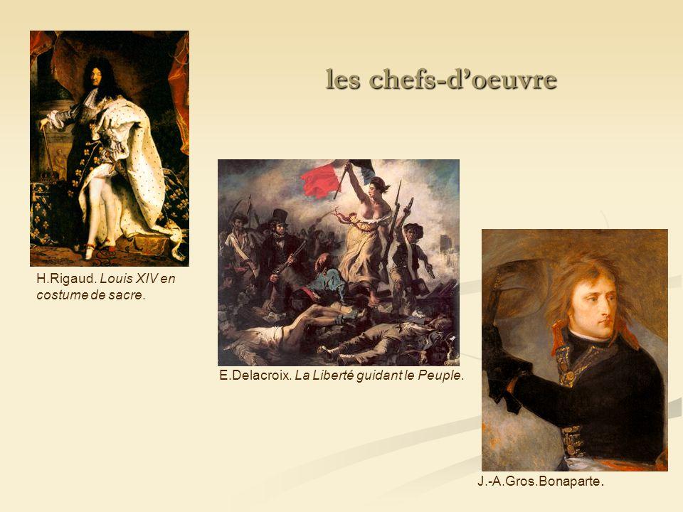 les chefs-d'oeuvre H.Rigaud. Louis XIV en costume de sacre.
