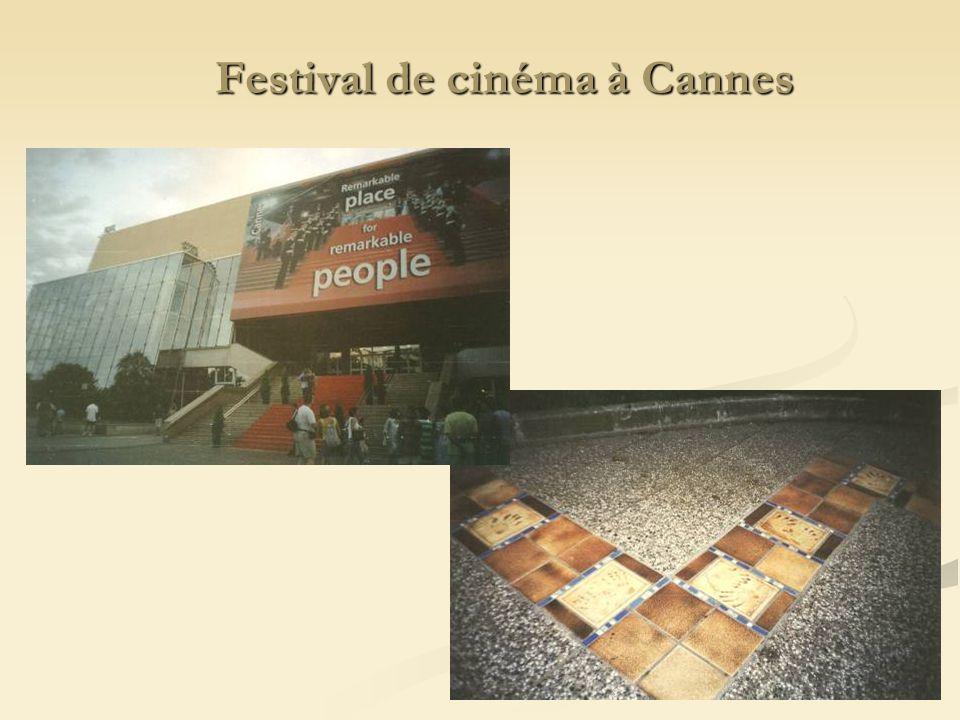 Festival de cinéma à Cannes