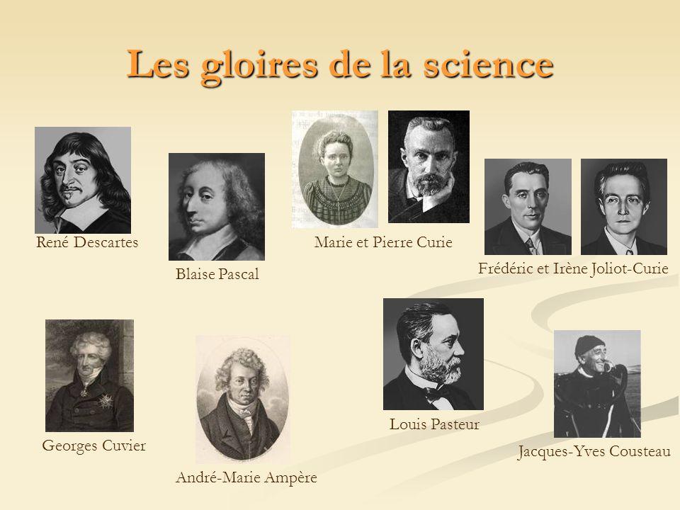 Les gloires de la science