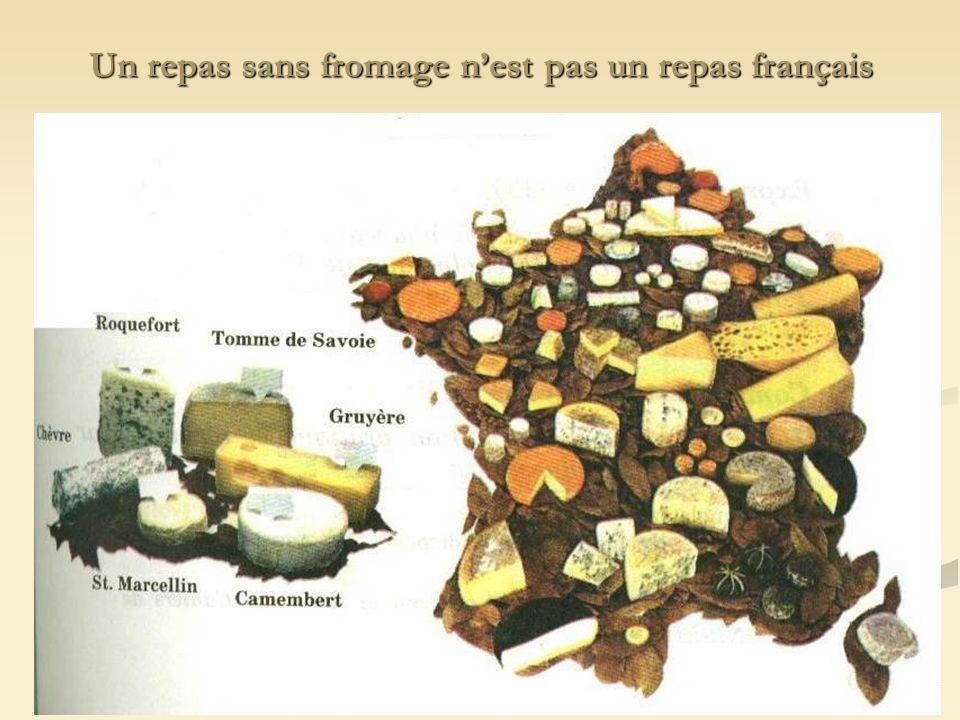 Un repas sans fromage n'est pas un repas français
