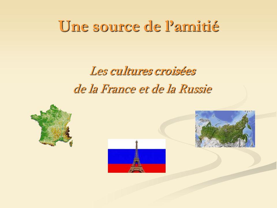 Les cultures croisées de la France et de la Russie