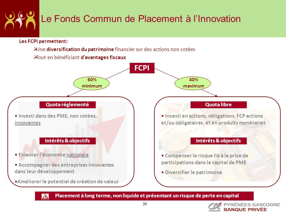Le Fonds Commun de Placement à l'Innovation