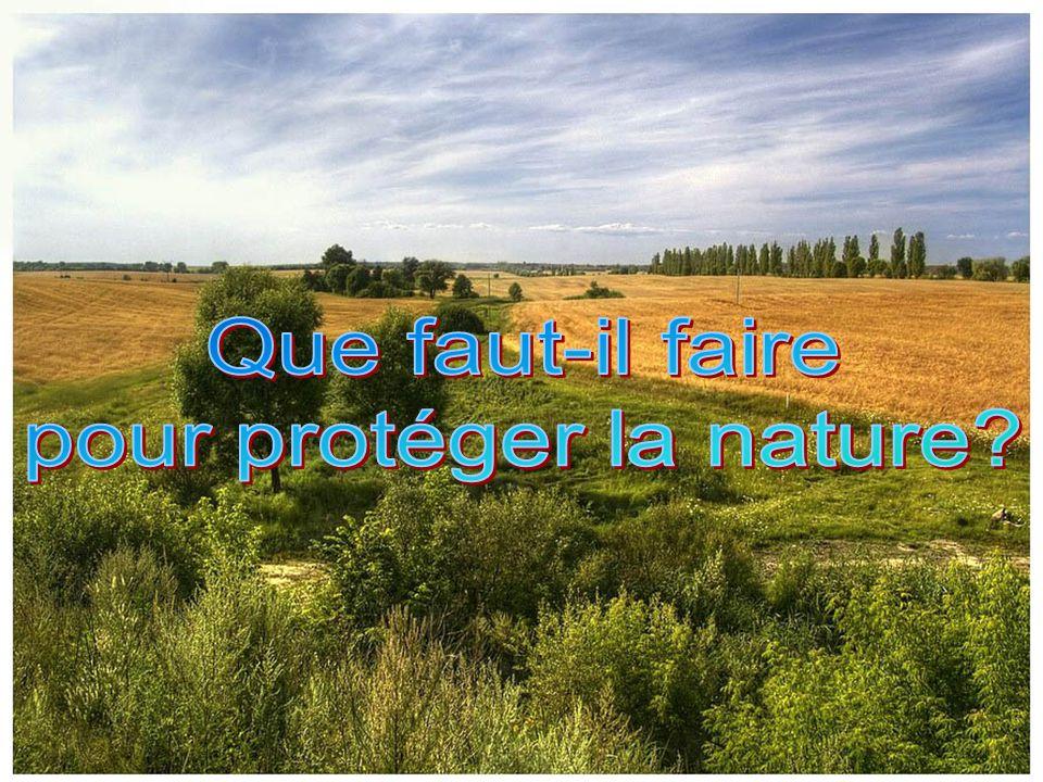 pour protéger la nature