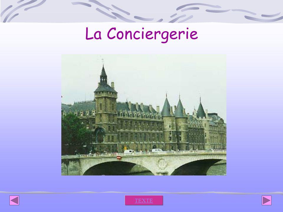 La Conciergerie TEXTE