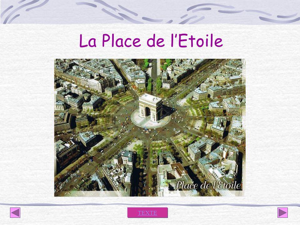 La Place de l'Etoile TEXTE
