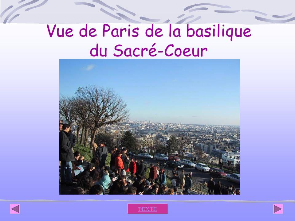 Vue de Paris de la basilique du Sacré-Coeur