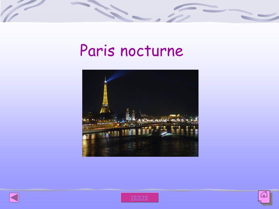 Paris nocturne TEXTE