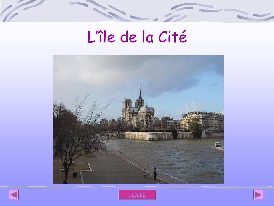 L'île de la Cité TEXTE