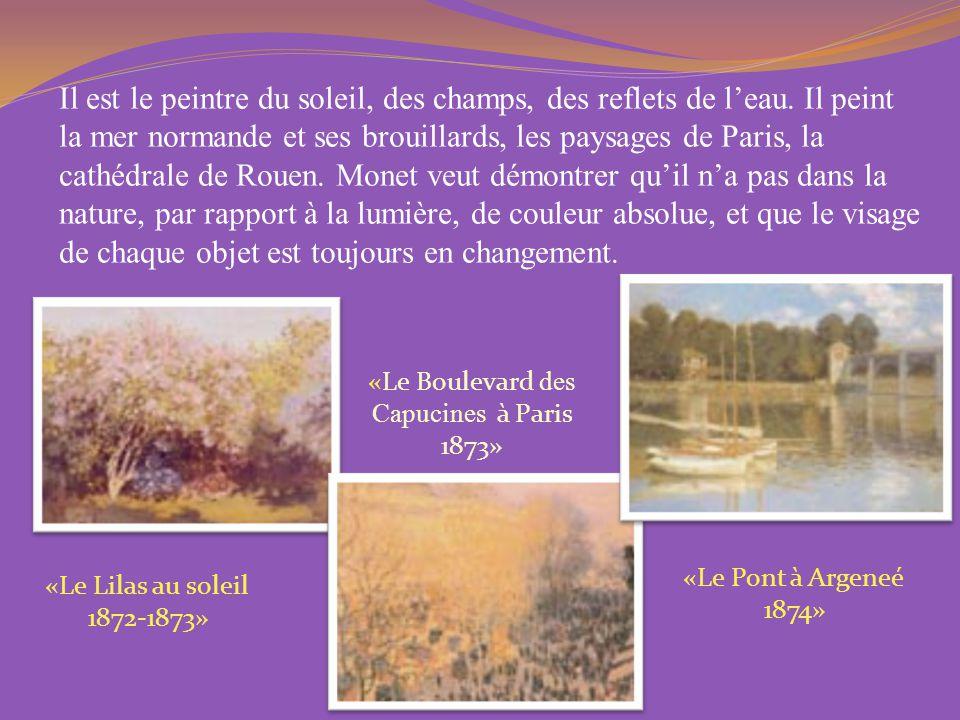 «Le Boulevard des Capucines à Paris 1873»