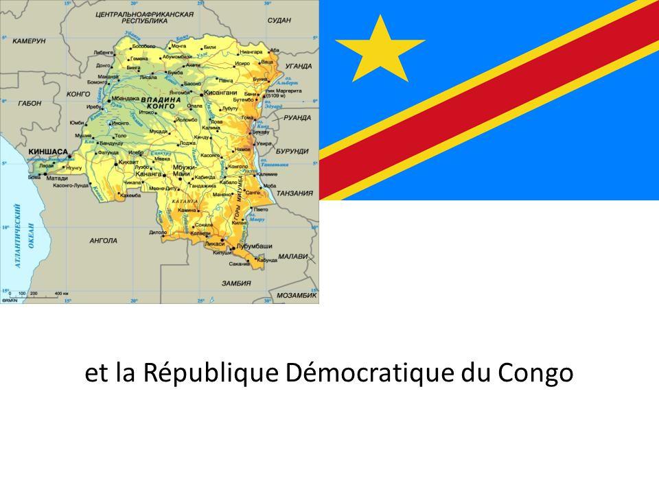 et la République Démocratique du Congo