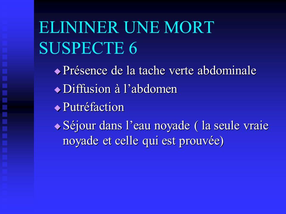 ELININER UNE MORT SUSPECTE 6