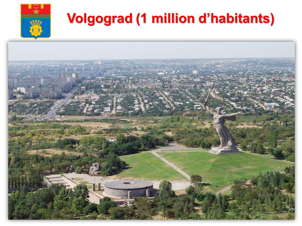 Volgograd (1 million d'habitants)
